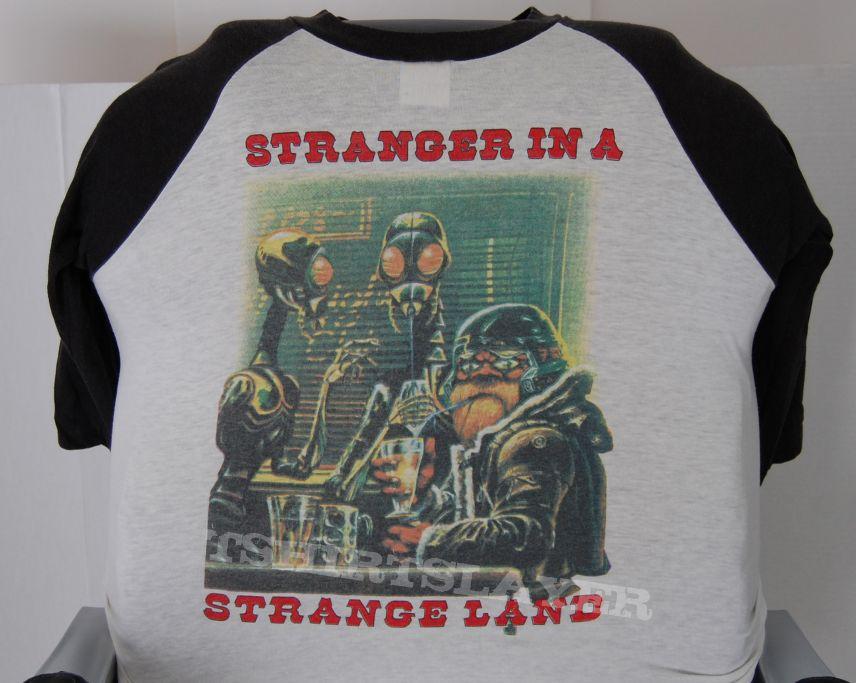 Iron Maiden Strange In A Strangeland Toppa Piccola Loading Zoom