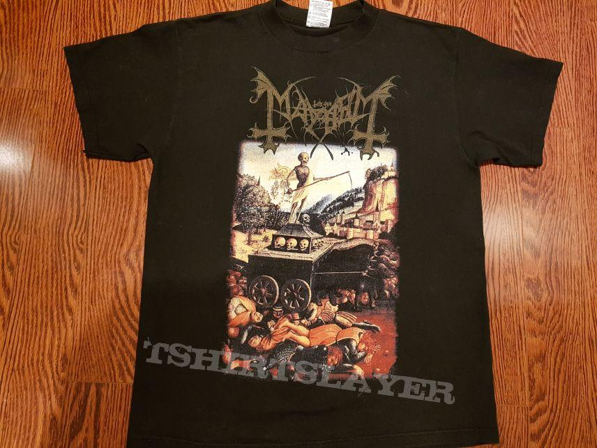 Mayhem shirt from early 2000's