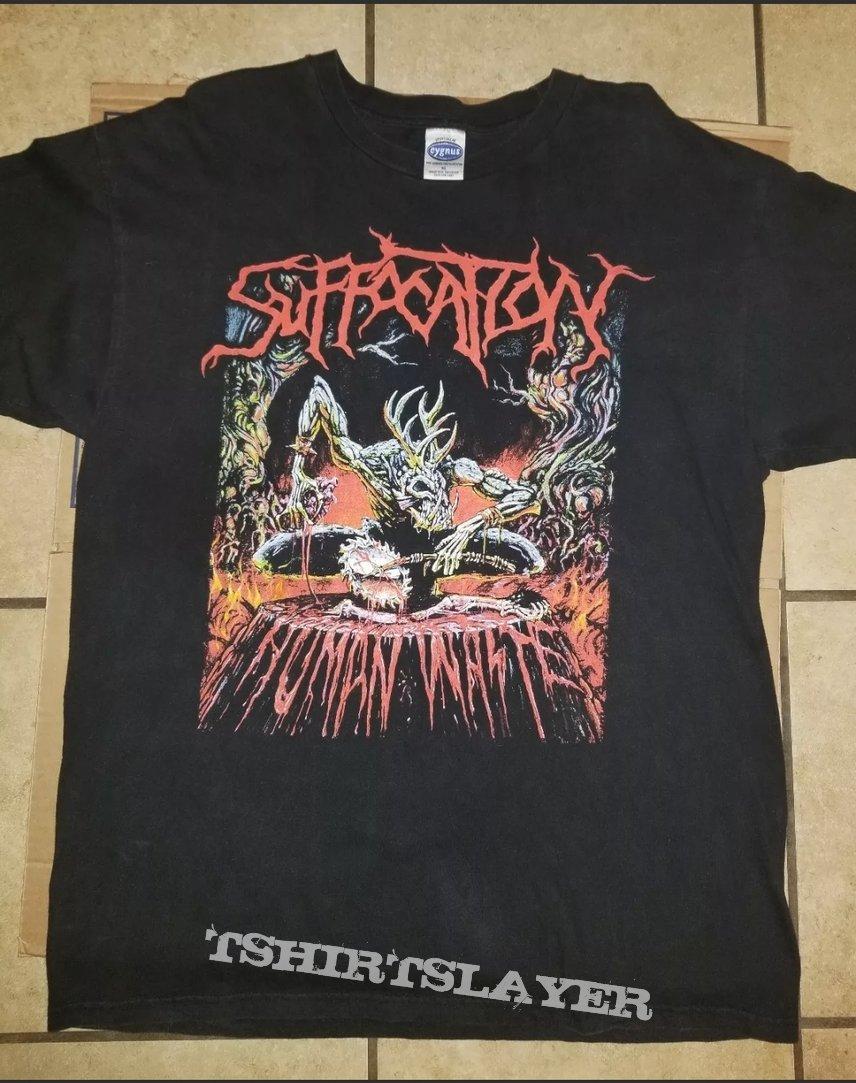 Suffocation Human Waste shirt