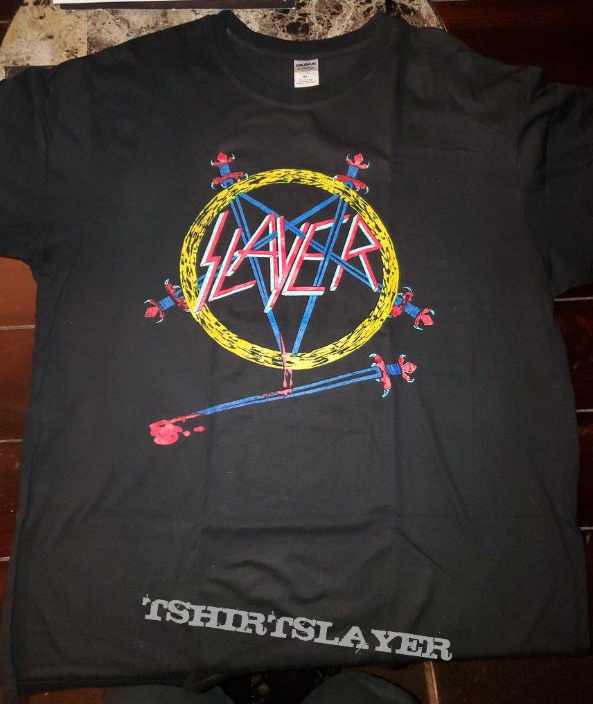 Slayer shirt Hell Awaits