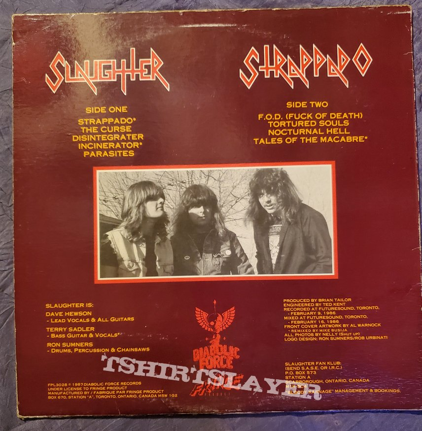 Slaughter - Strappado