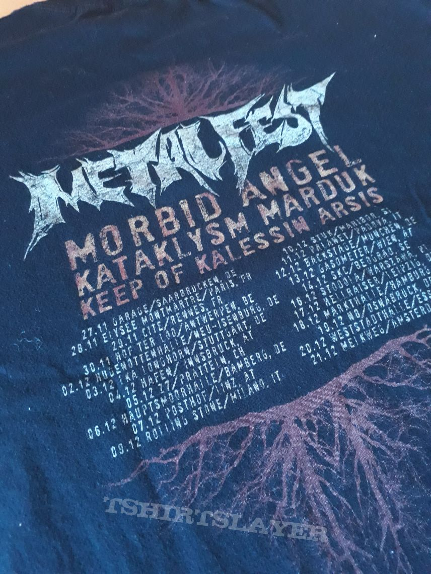 Metalfest tour T-shirt