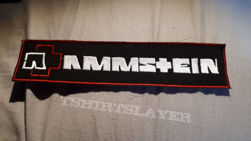 Rammstein strip patch