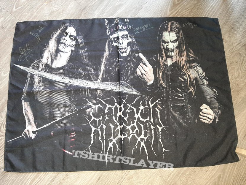 Carach angren NA tour flag