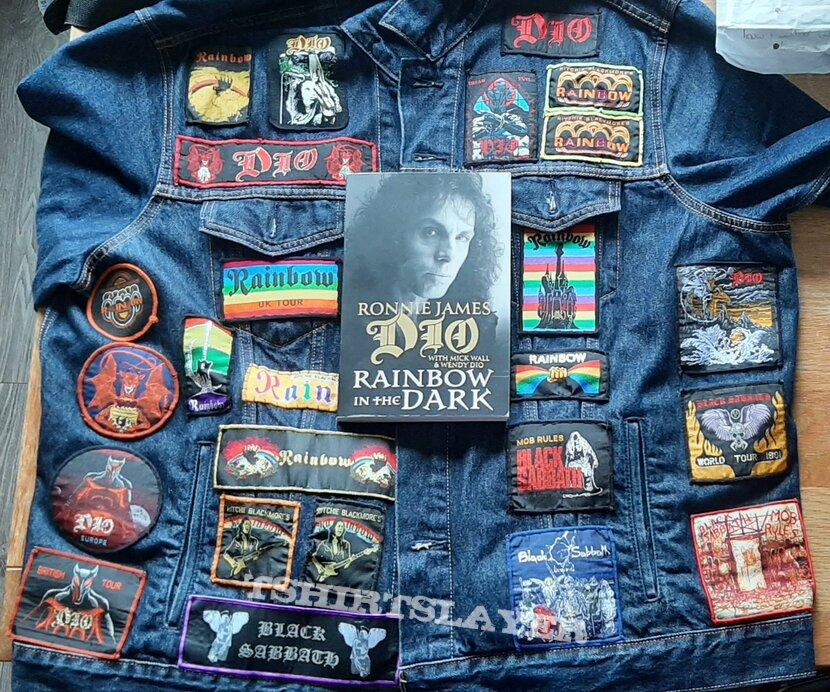 Ronnie james dio dedication jacket