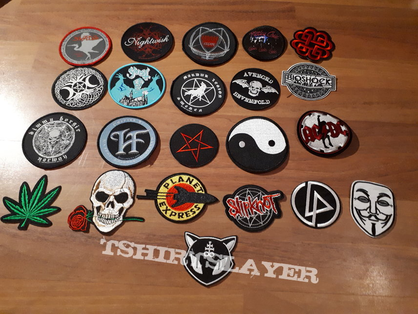 Patch dressed in black old post sold