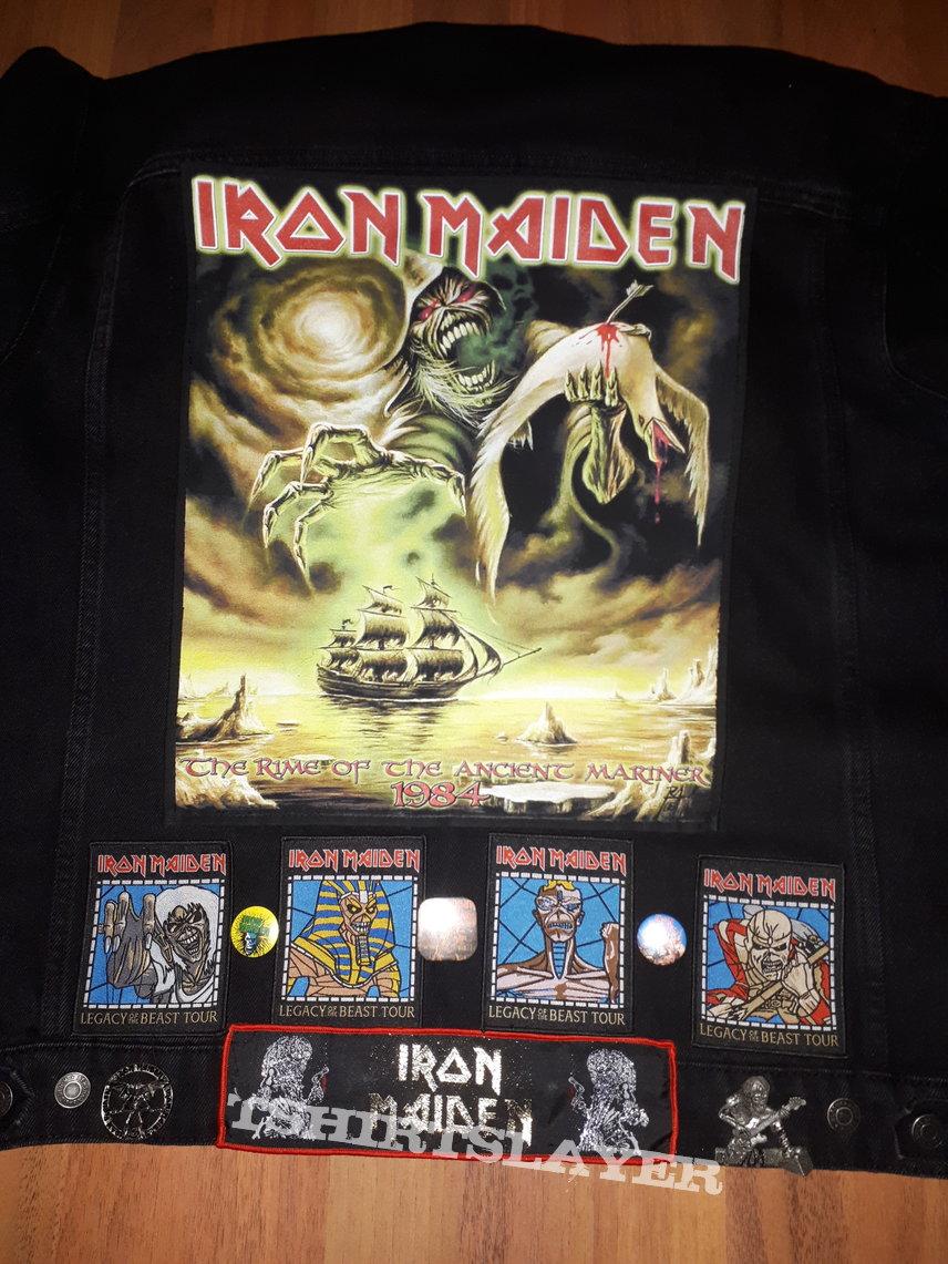 Start of my iron maiden jacket