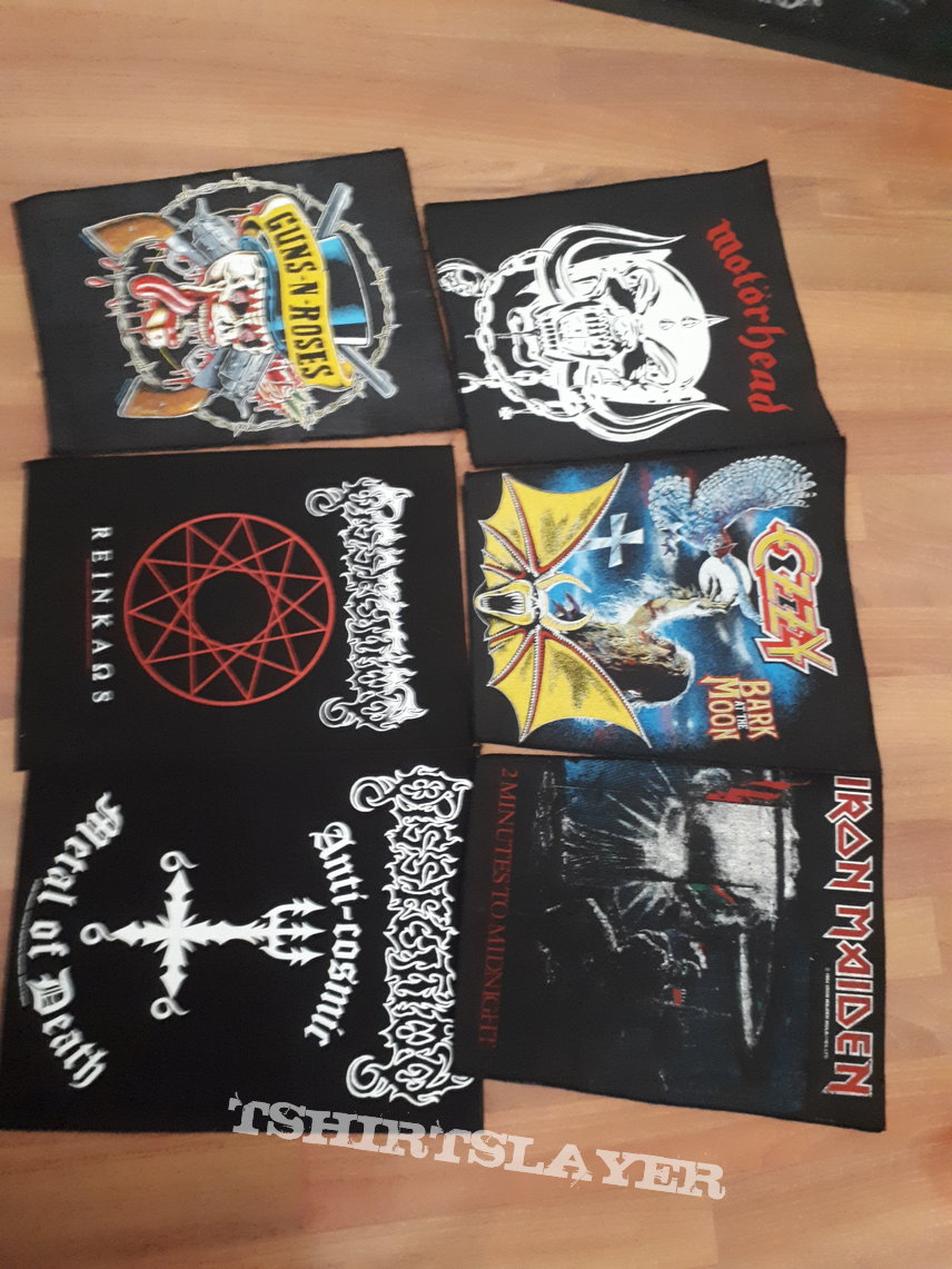 Backpatches and backshapes
