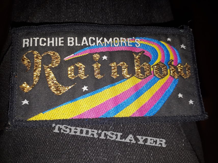 Ritchie blackmores rainbow patch