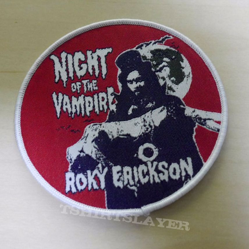 Roky Erickson patch