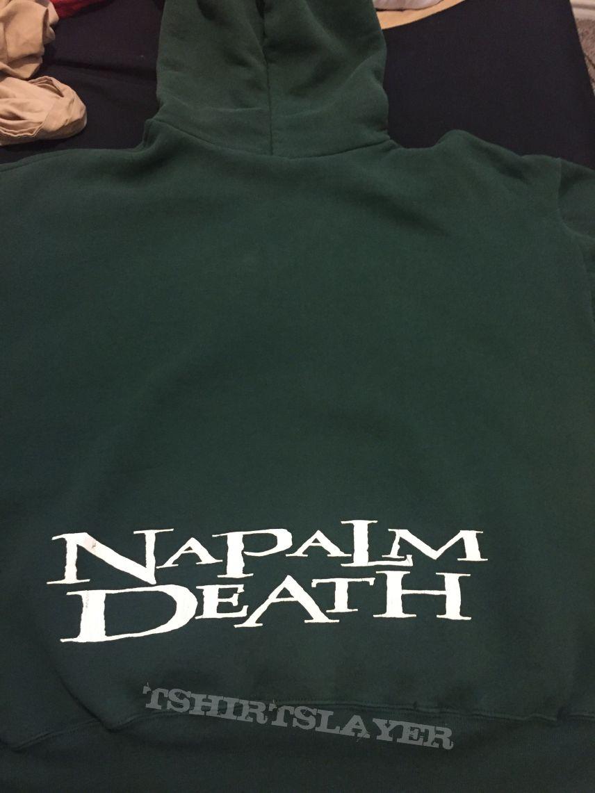 "Napalm Death ""North American Tour 1996"" Hoodie XL"