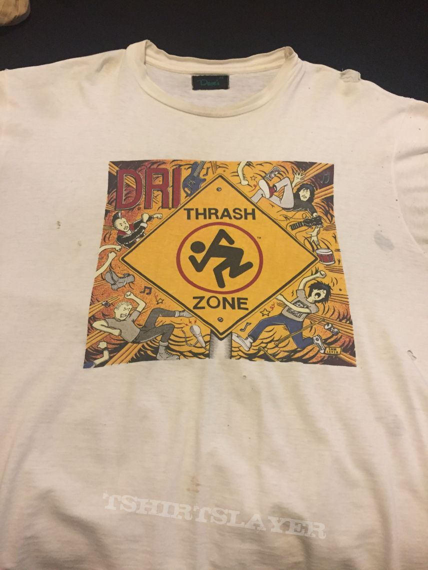 "D.R.I. ""Thrash Zone World Tour 1989"" XL"