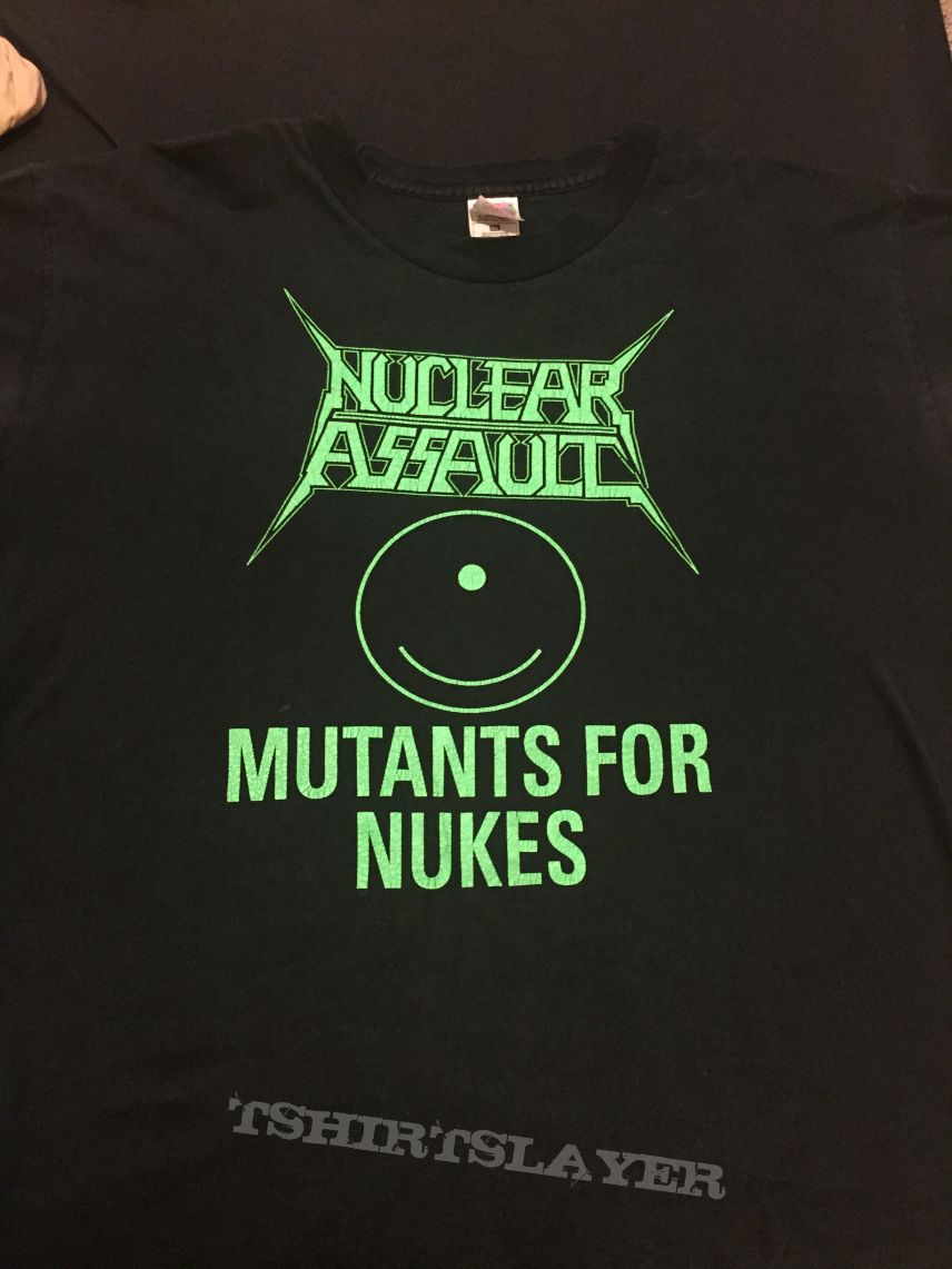 """Nuclear Assault """"Back From the Dead Tour 1998"""" XL"""