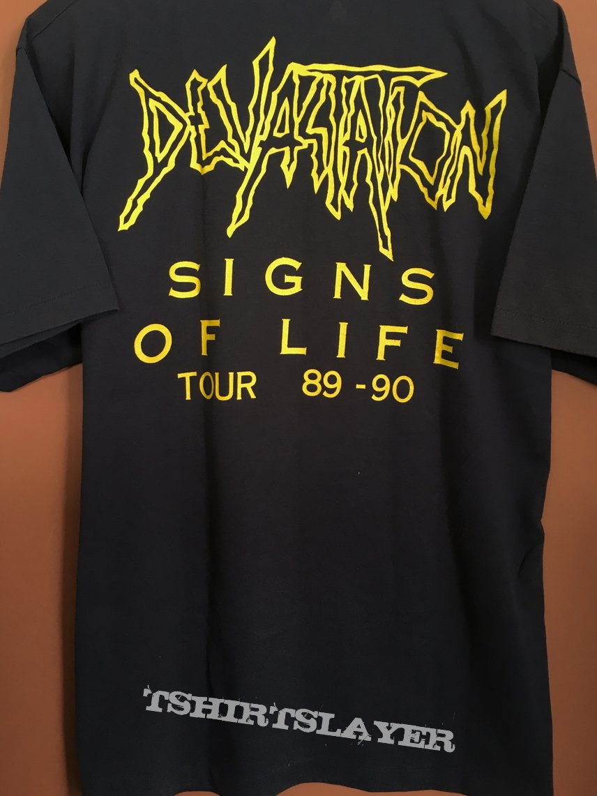 Devastation - Signs Of Life Tour '89/'90