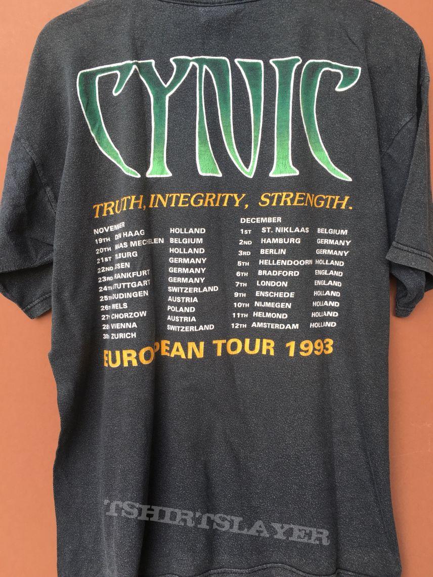 Cynic European Tour 1993