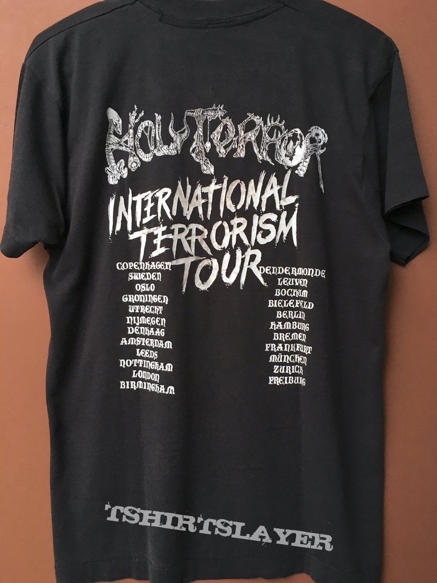 Holy Terror Terrorism tour 88