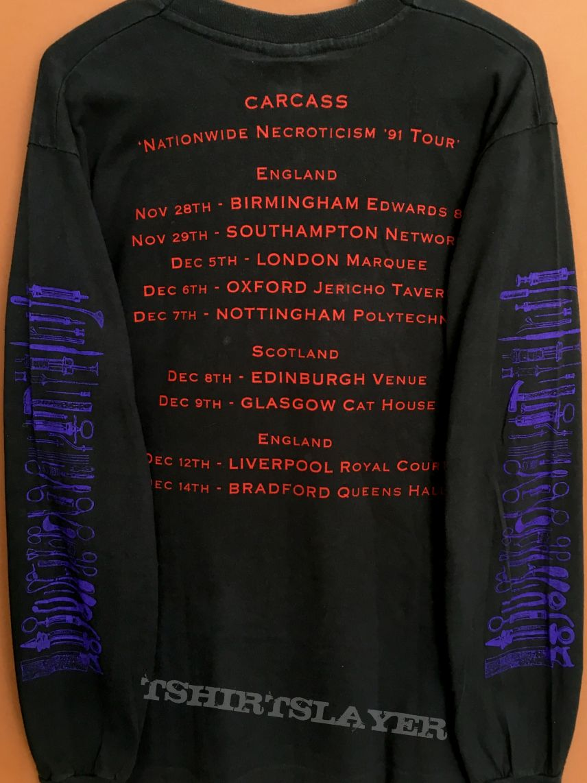 Carcass Necroticism '91 Tour longsleeve