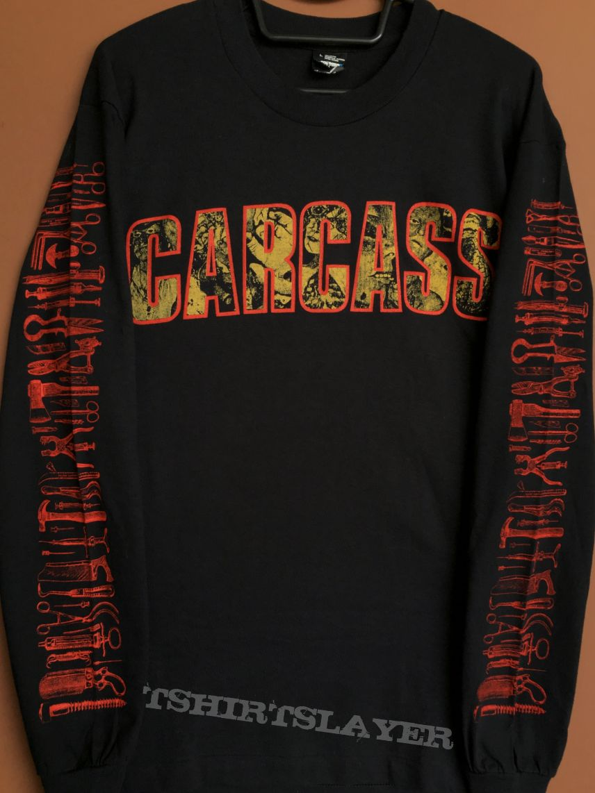 Carcass Gods Of Grind Tour longsleeve