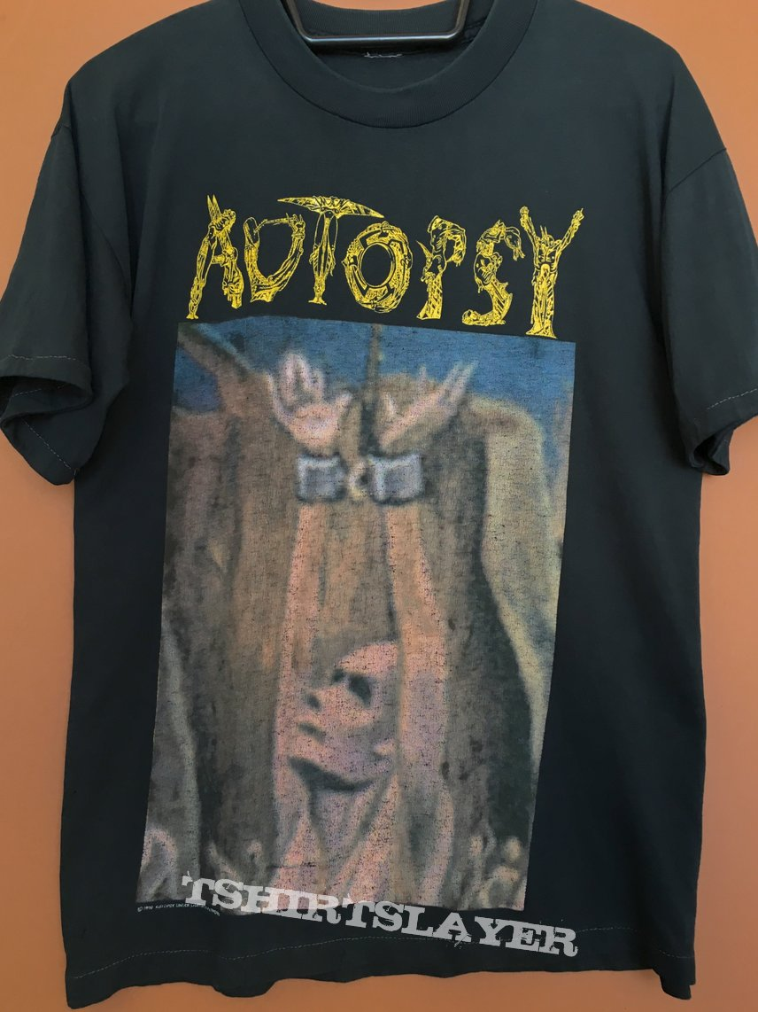 Autopsy Acts of Unspeakable shirt 1992 | TShirtSlayer TShirt