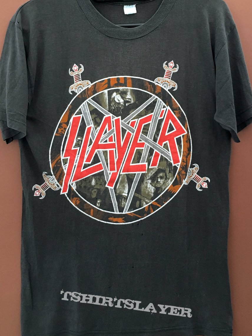 Slayer Reign In Blood Euro Tour 1987
