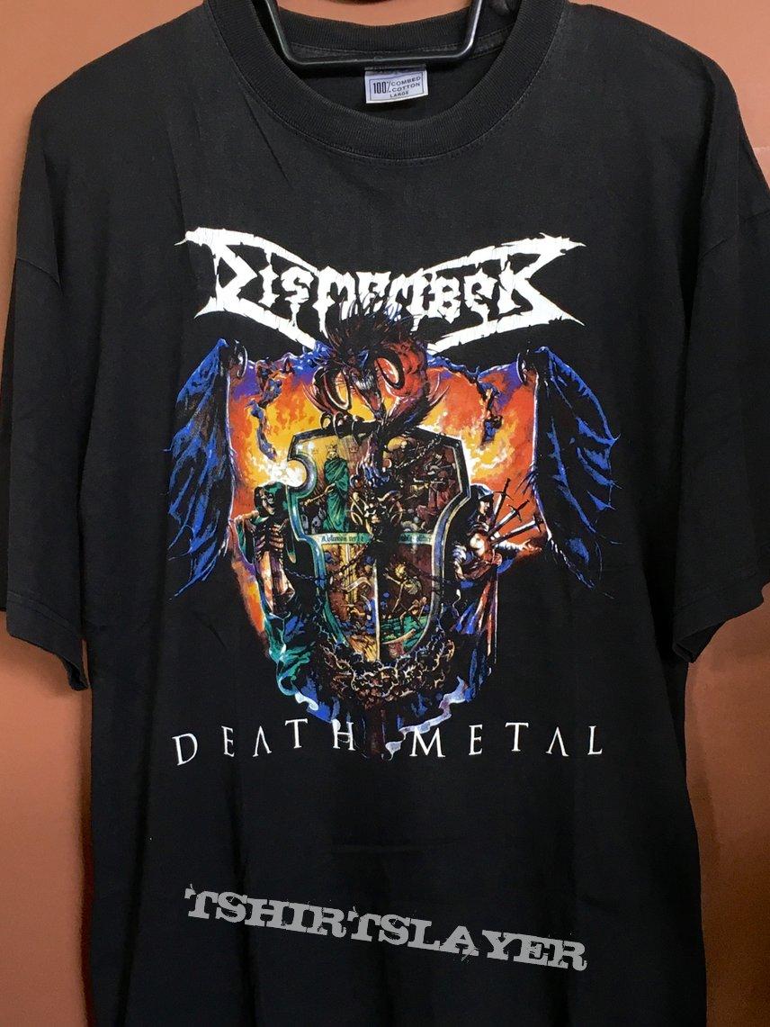 Dismember death metal shirt