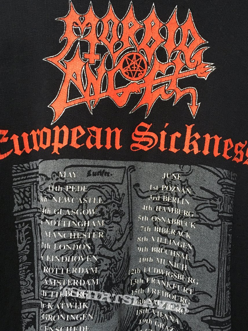 Morbid Angel Leading The Rats European Sickness sweater