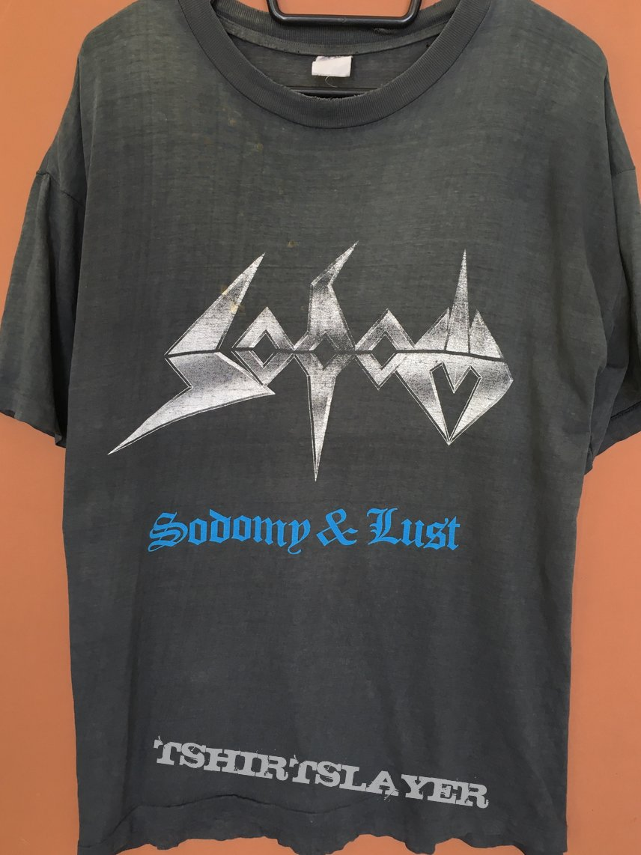 Sodom Sodomy & Lust shirt 1987