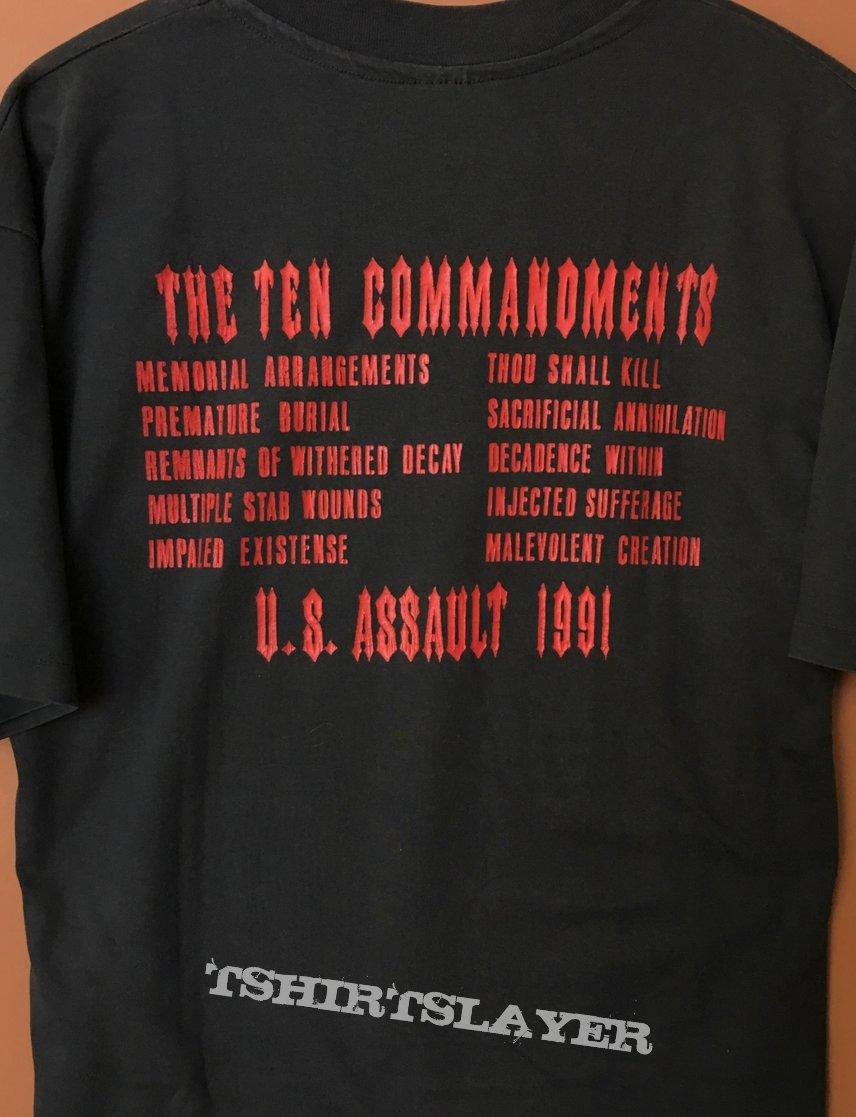 Malevolent Creation The Ten Commandments U.S. Assault 1991
