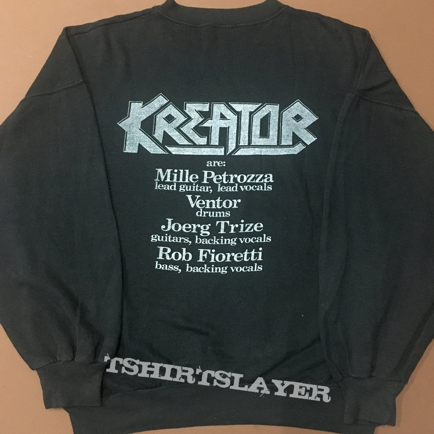 Vintage Kreator pleasure to kill