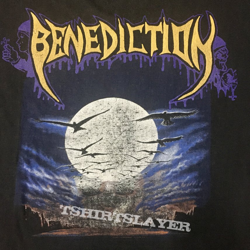 Vintage Benediction dark is the season shirt