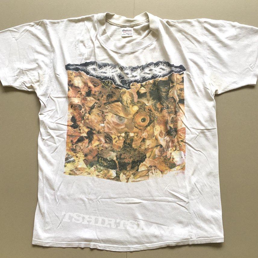 Carcass nauseating north america tour shirt