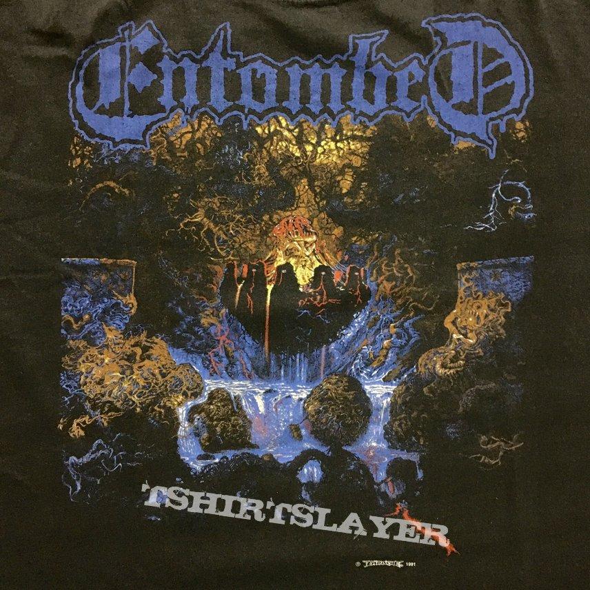 Vintage Entombed clandestine shirt