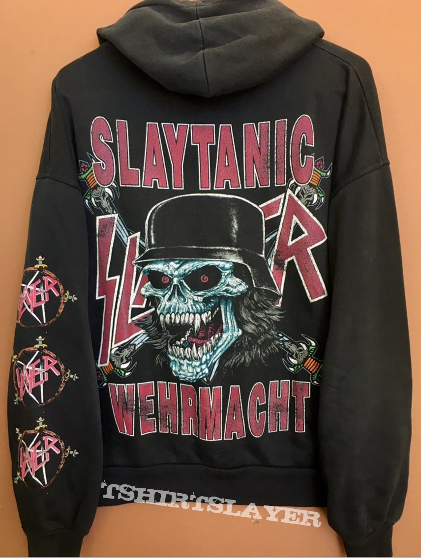 Slayer slaytanic wehrmacht hoodie
