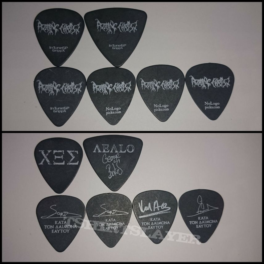 Rotting Christ guitar picks