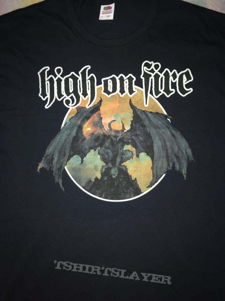 High On Fire shirt