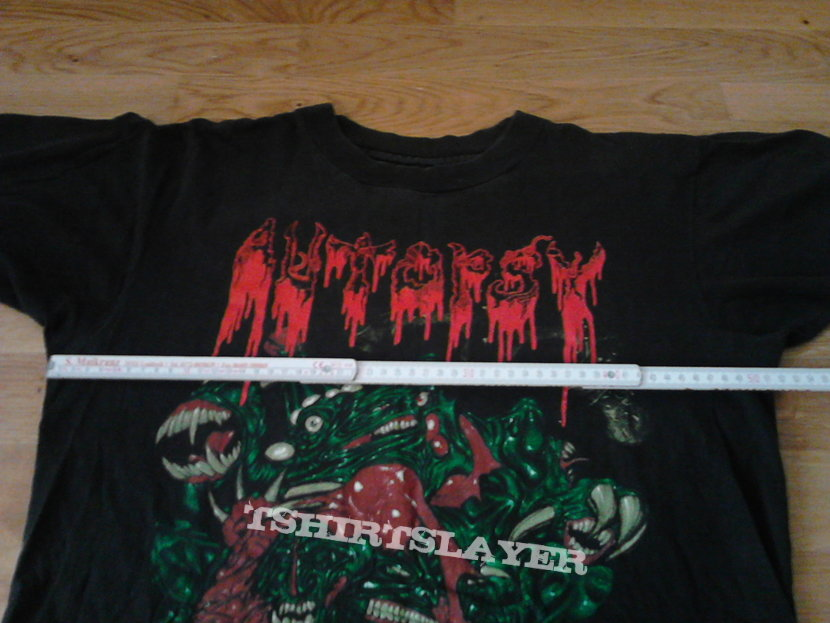 "Autopsy ""Mental Funeral"" shirt"