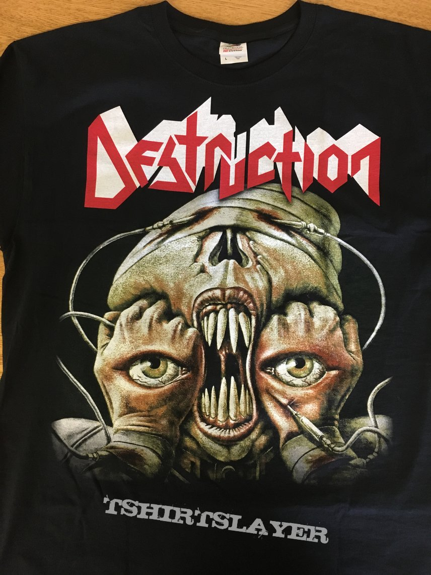 Destruction Release from agony tshirt
