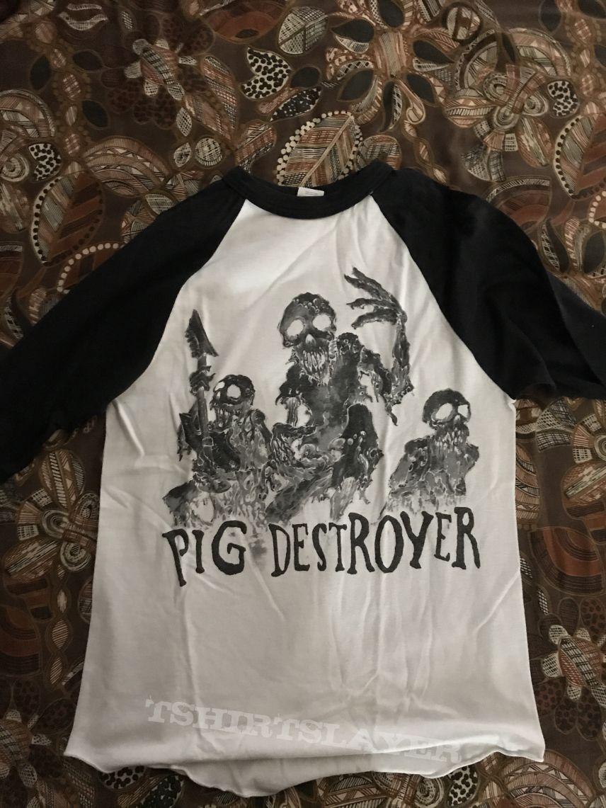 Pig destroyer baseball shirt