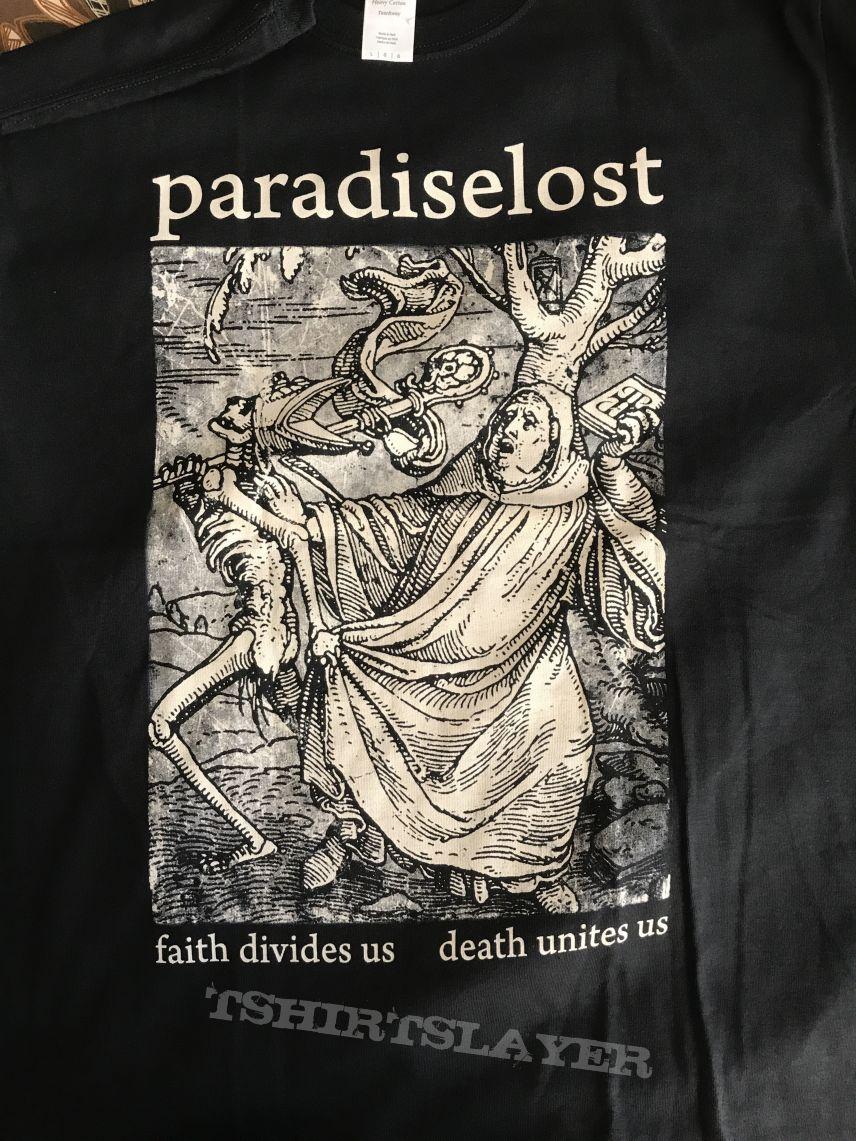 Faith divides us death unites us