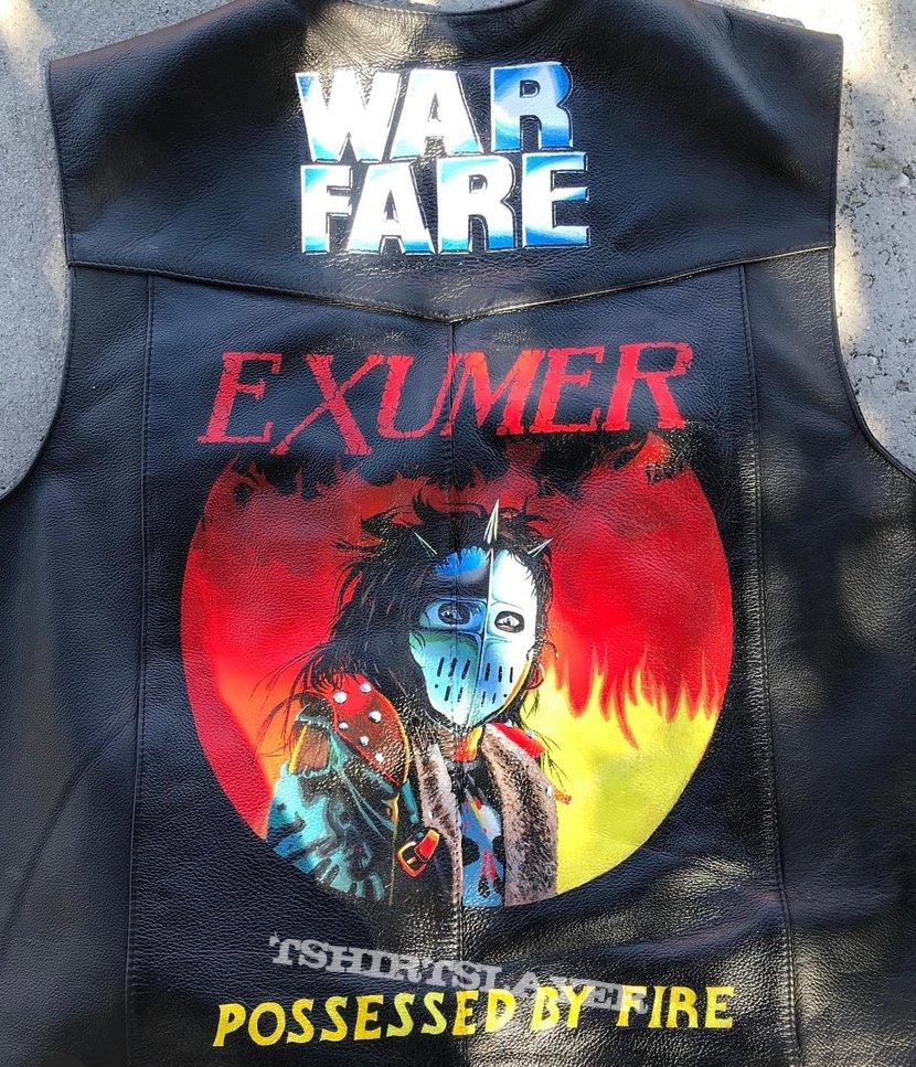 Painted Leather Vest (Exumer/Warfare)
