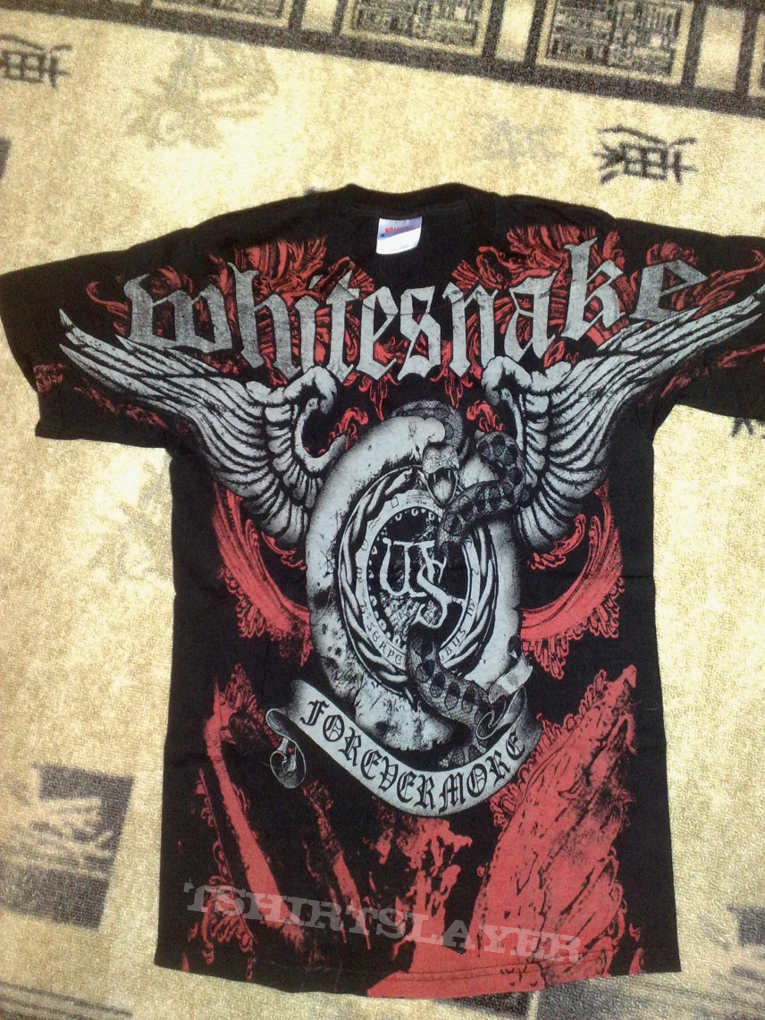 T shirt whitesnake - Whitesnake Forevermore T Shirt