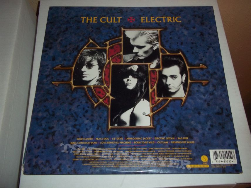 Other Collectable - The Cult - Electric (first press) vinyl LP.