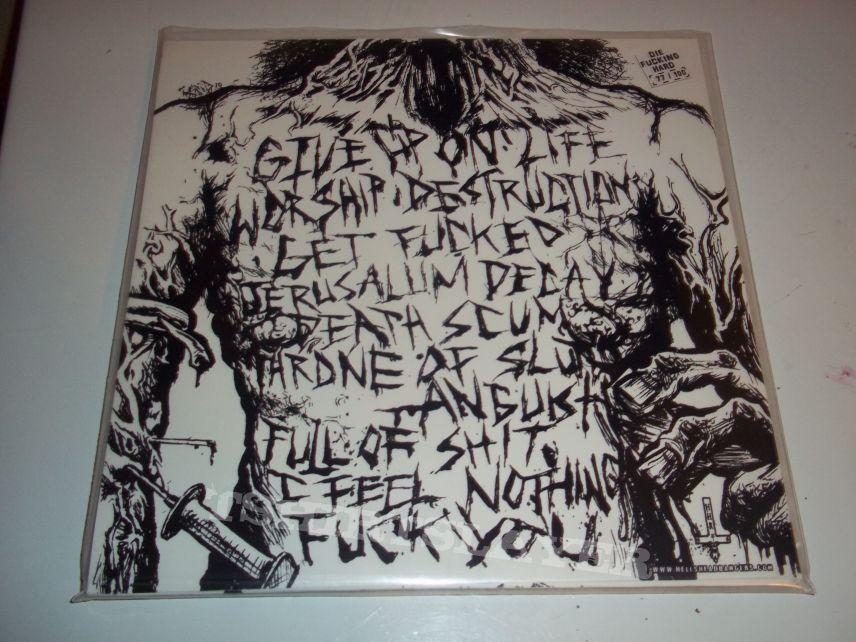 Nekrofilth - Worship Destruction (die-hard) edition vinyl LP.