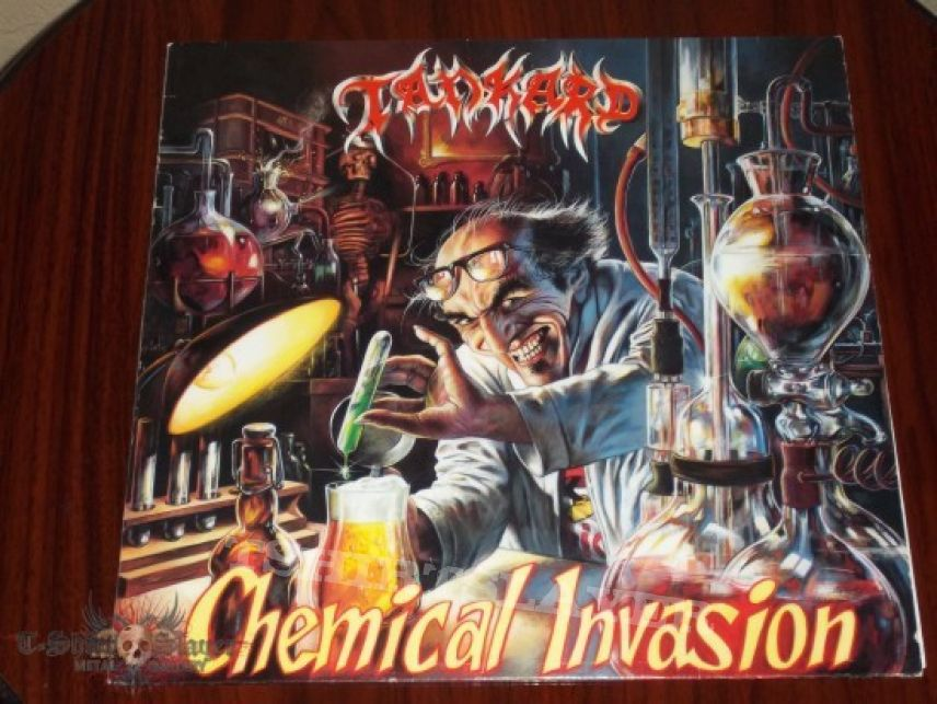 Other Collectable - Tankard - Chemical Invasion (first press) vinyl LP.
