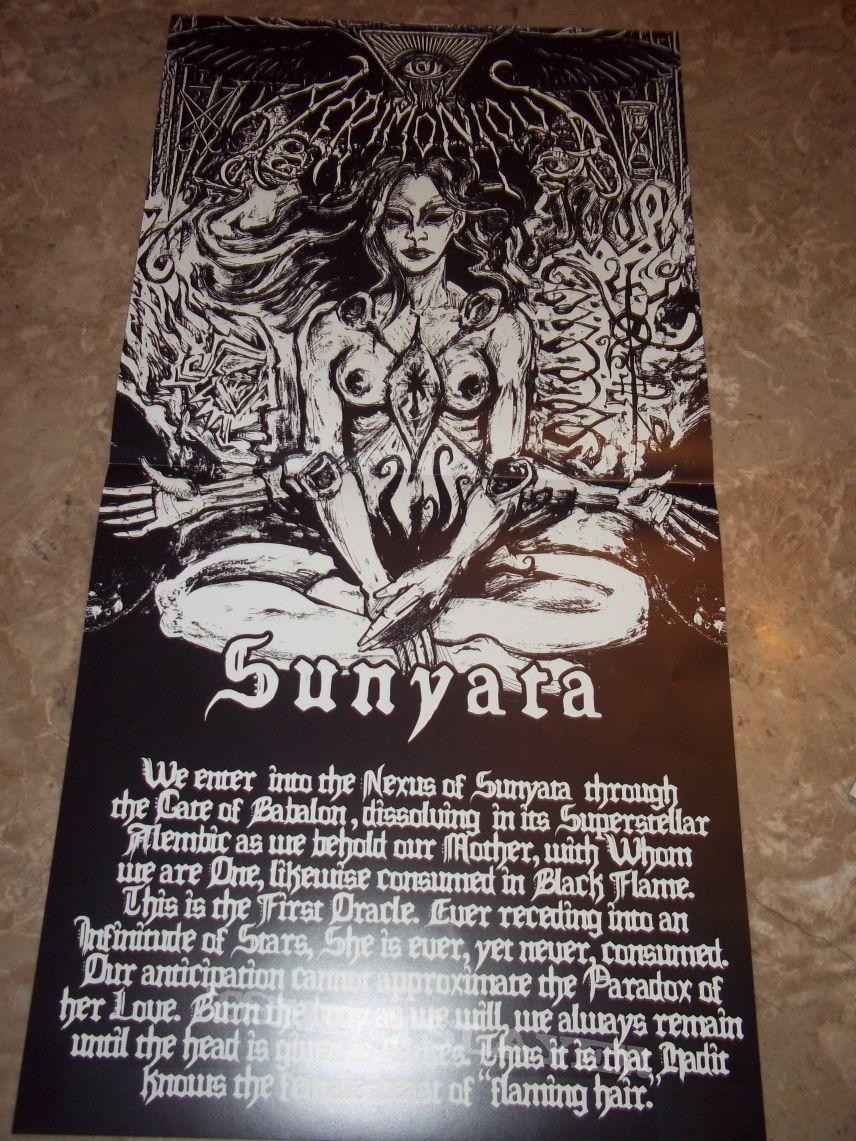 Acrimonious - Sunyata vinyl LP.