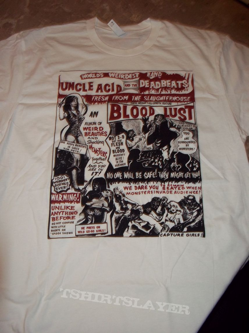 Uncle Acid and the Deadbeats - Blood Lust (another) shirt.