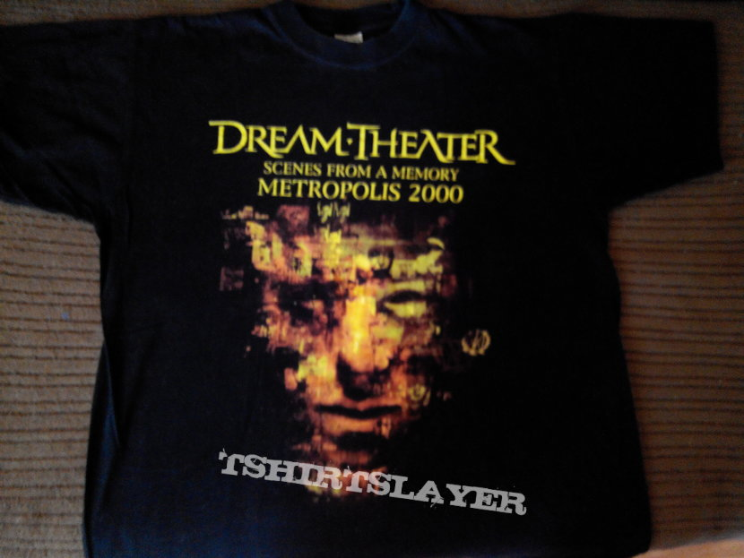 Dream Theater Metropolis Scenes From A Memory 2000 T Shirt Size L Tshirtslayer Tshirt And Battlejacket Gallery