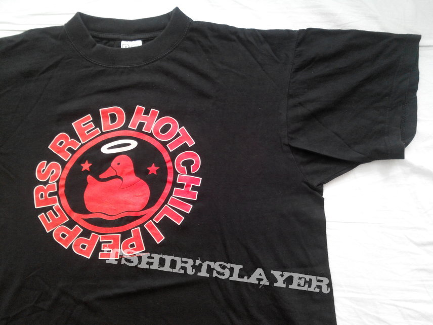 Red Hot Chili Peppers Californication Duck  1999 Moebetoblame Music  Original t-shirt size - L