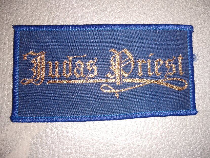 Judas Priest -  70's  logo  -  woven patch