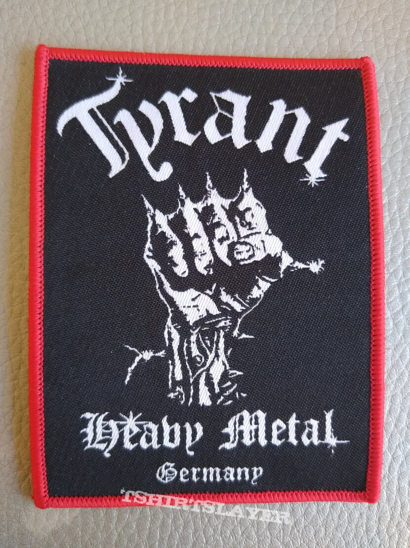 Tyrant -  91's   Heavy Metal Germany - woven patch